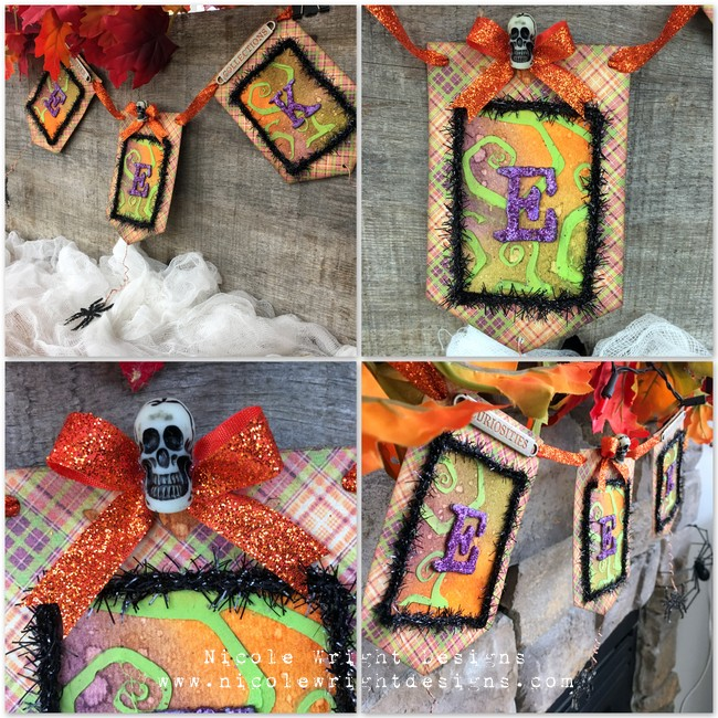 Eeek! We Can't Get Over This Mixed Media Halloween Make!
