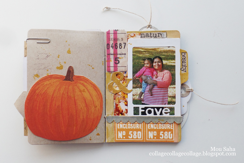 This Scrumptious Autumn Mini Book Is Perfect For Your Fall Memories