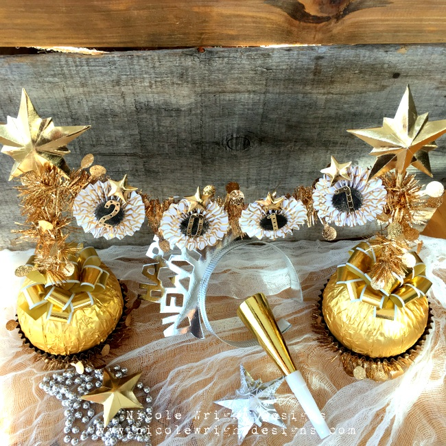 Bring in the New Year With This DIY Centerpiece