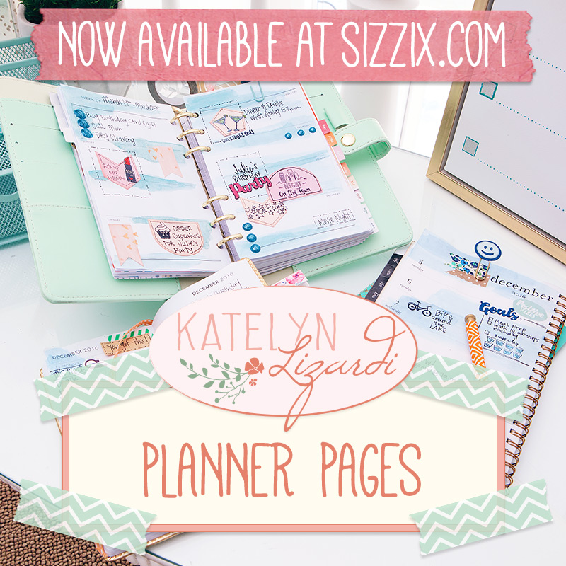 Katelyn Lizardi Planner Pages