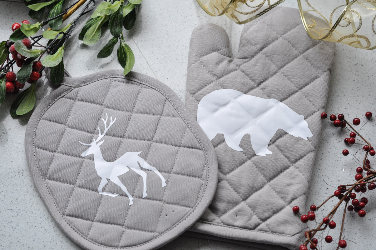 Northern Inspired Potholder and Oven Mitt with Sizzix-12