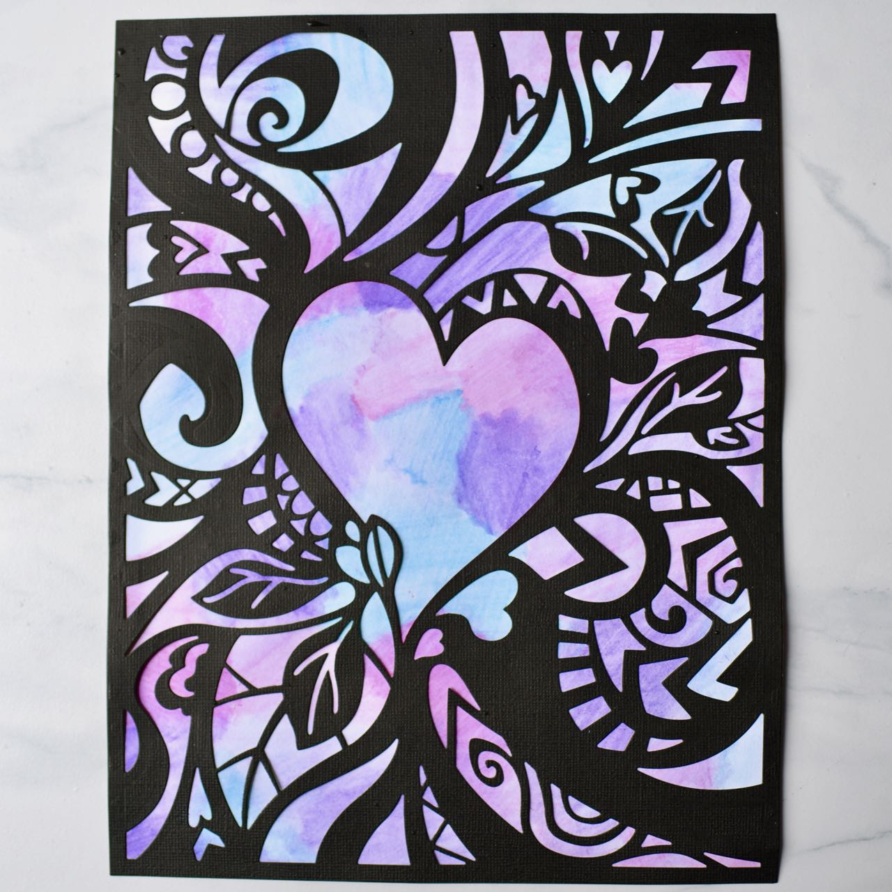 Spread the Love With This DIY Art Hanging
