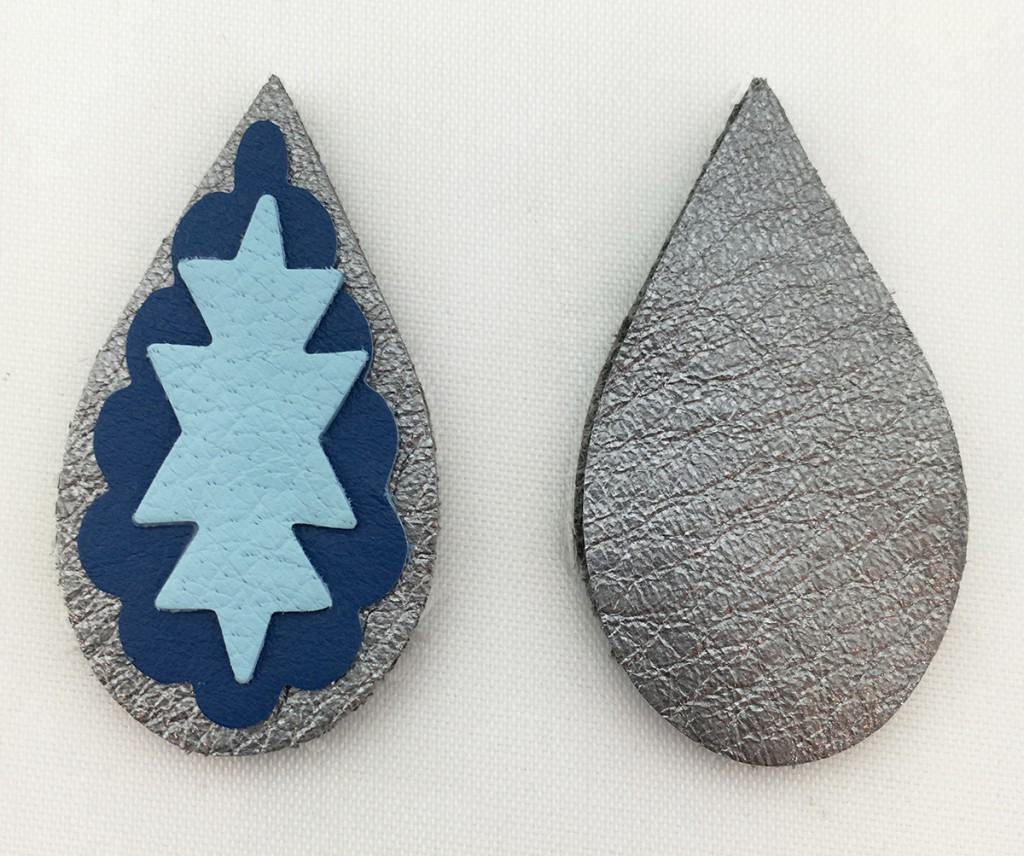DIY Santa Fe Earrings by Jill MacKay