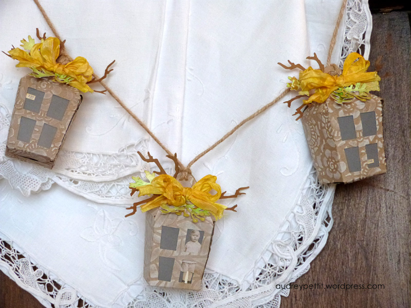 Add Some Vintage Vibes To Your Decor With This Textured Lantern Garland DIY