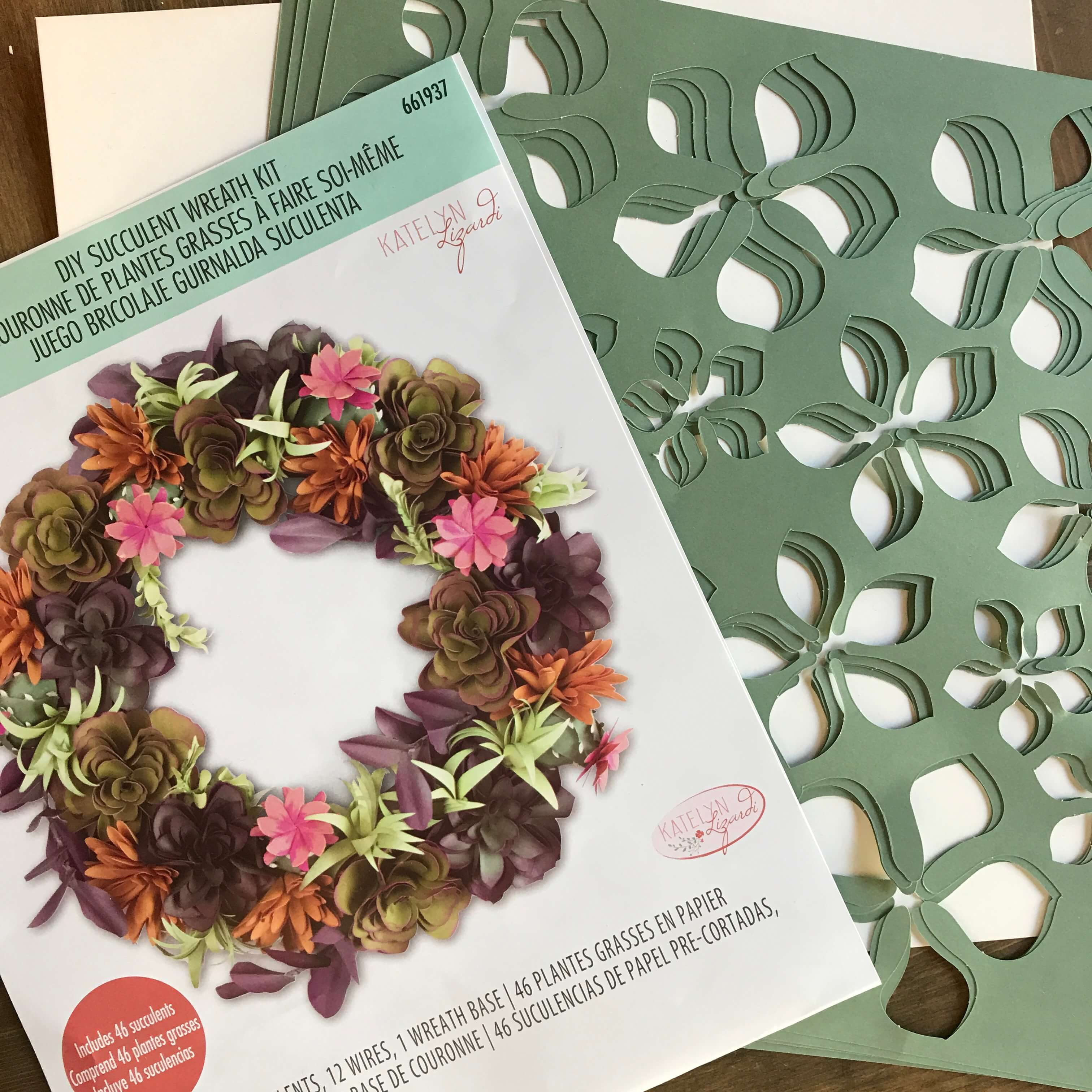 Everyday Party Magazine Succulent Wreath 10