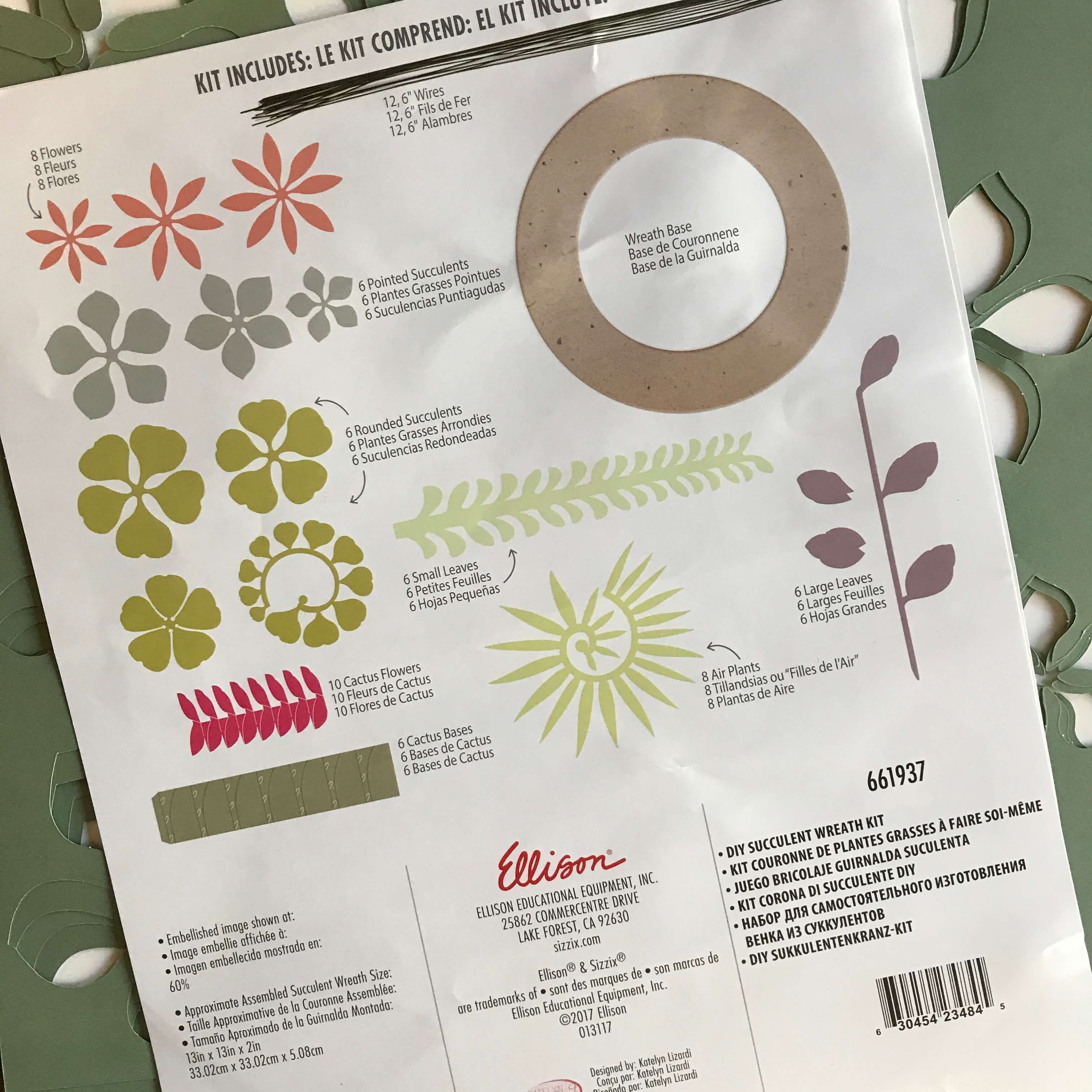 Everyday Party Magazine Succulent Wreath 13