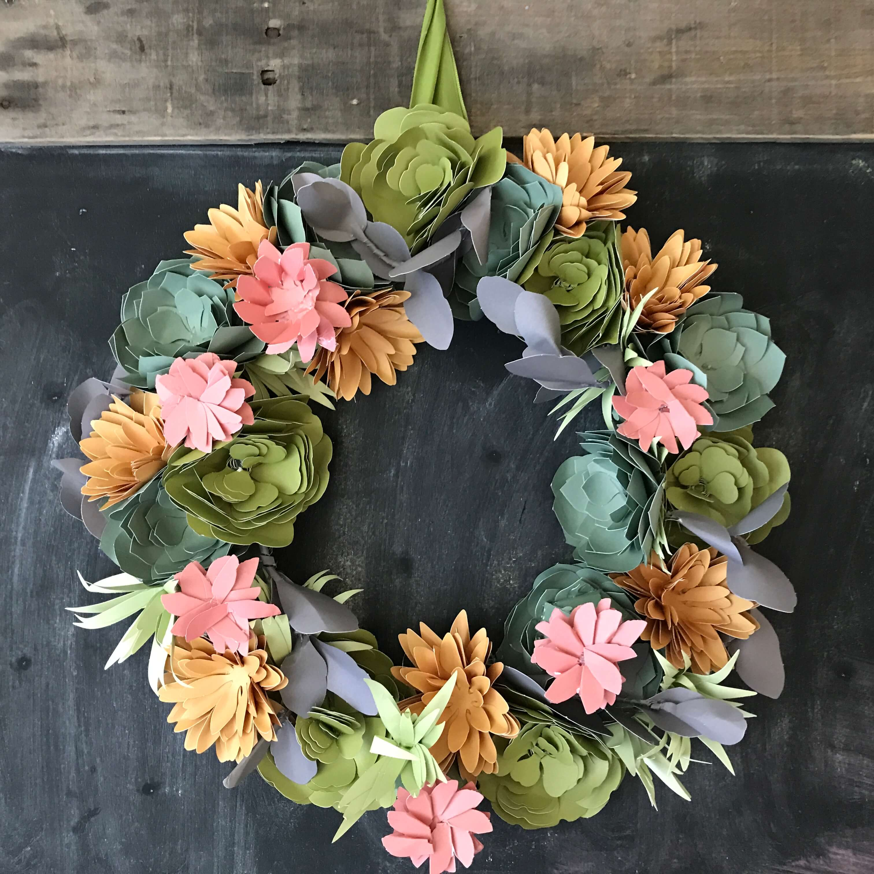 Everyday Party Magazine Succulent Wreath 8