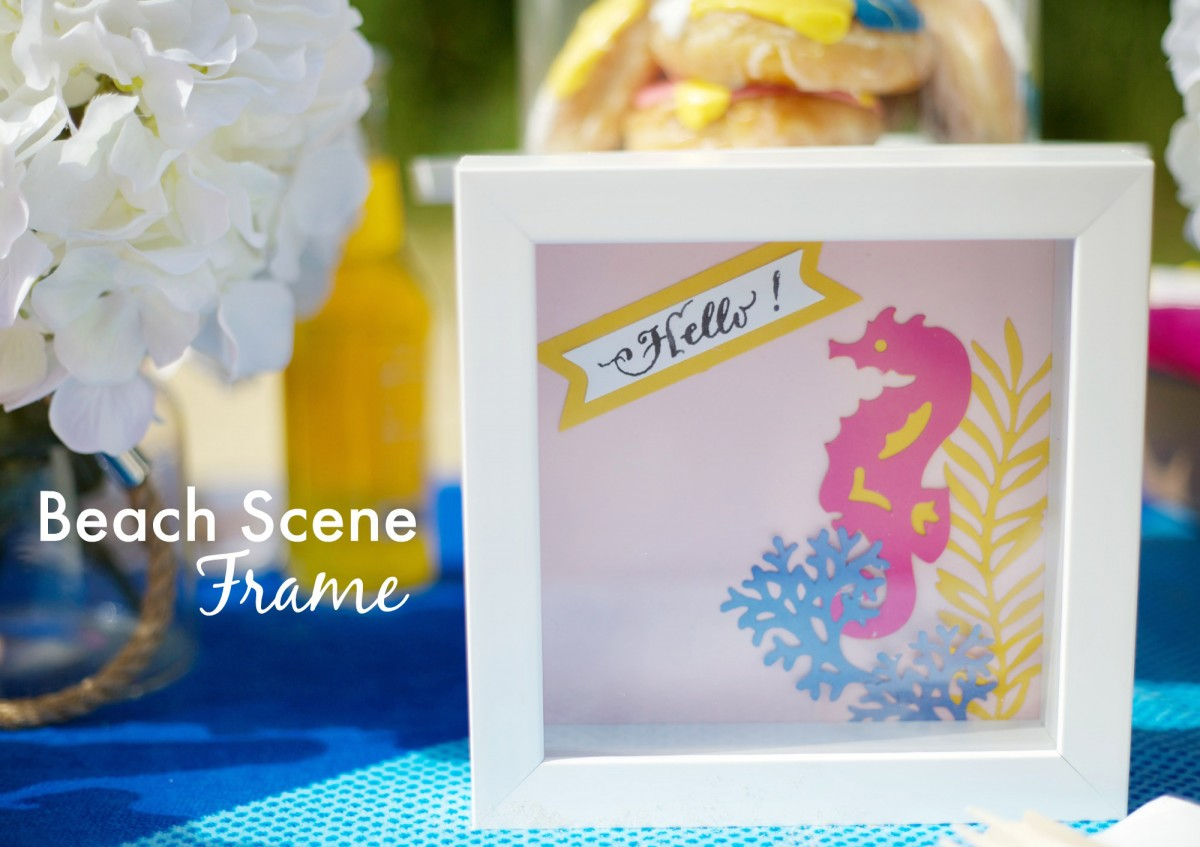 Playful-Seahorse-Shadowbox-to-Decorate-Your-Summer-Party