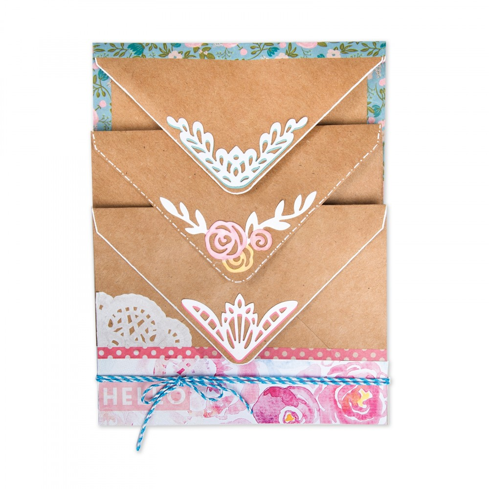 Available Now at Sizzix: Envelope Liners by Katelyn Lizardi