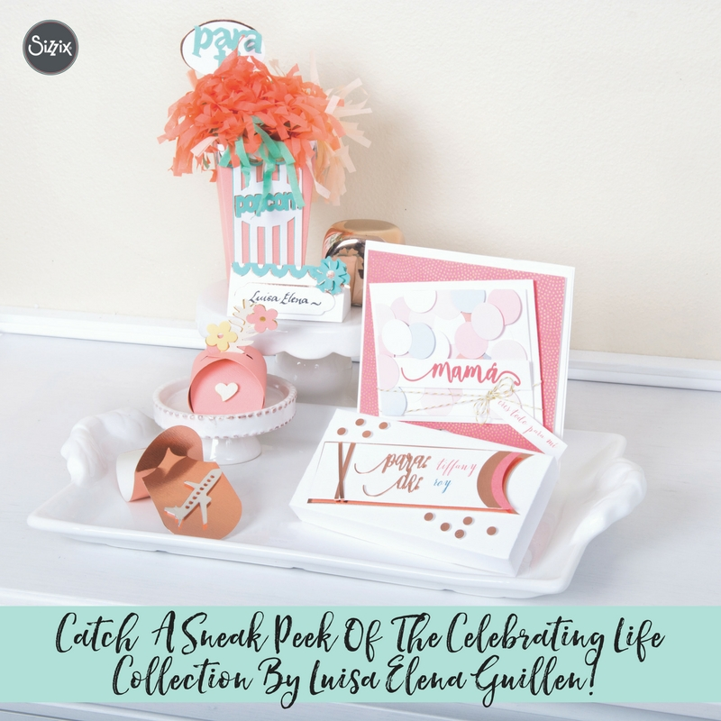 Catch A Sneak Peek Of The Celebrating Life Collection By Luisa Elena Guillen!