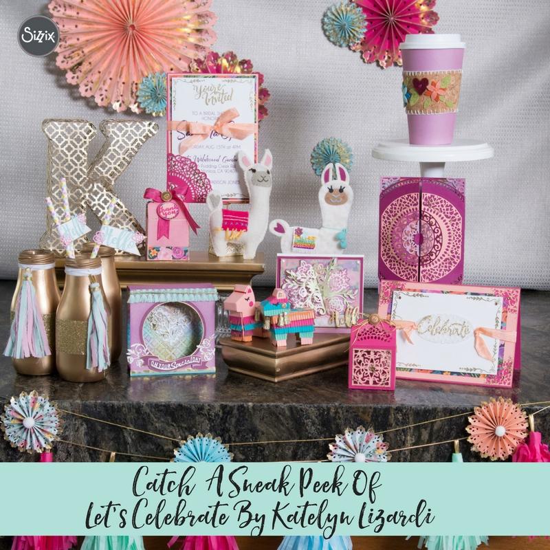 Catch A Sneak Peek Of Let's Celebrate By Katelyn Lizardi