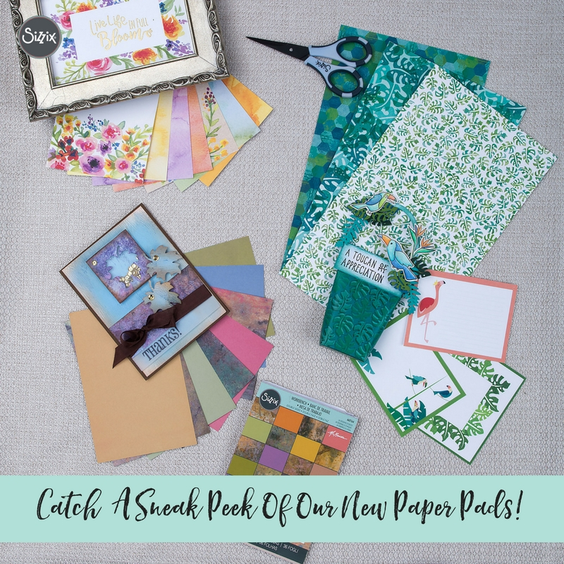 Catch A Sneak Peek Of Our New Paper Pads!