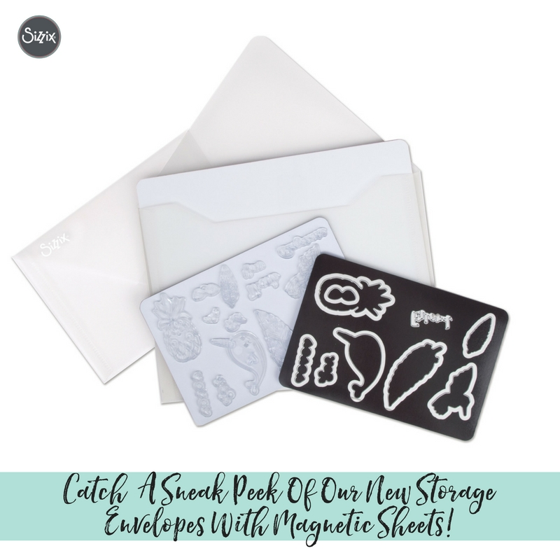 Catch A Sneak Peek Of Our Brand New Storage Envelopes With Magnetic Sheets!