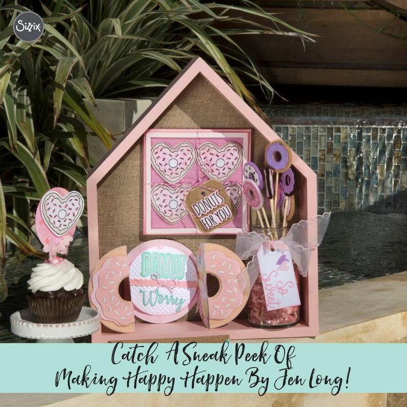 Catch A Sneak Peek Of Making Happy Happen By Jen Long!