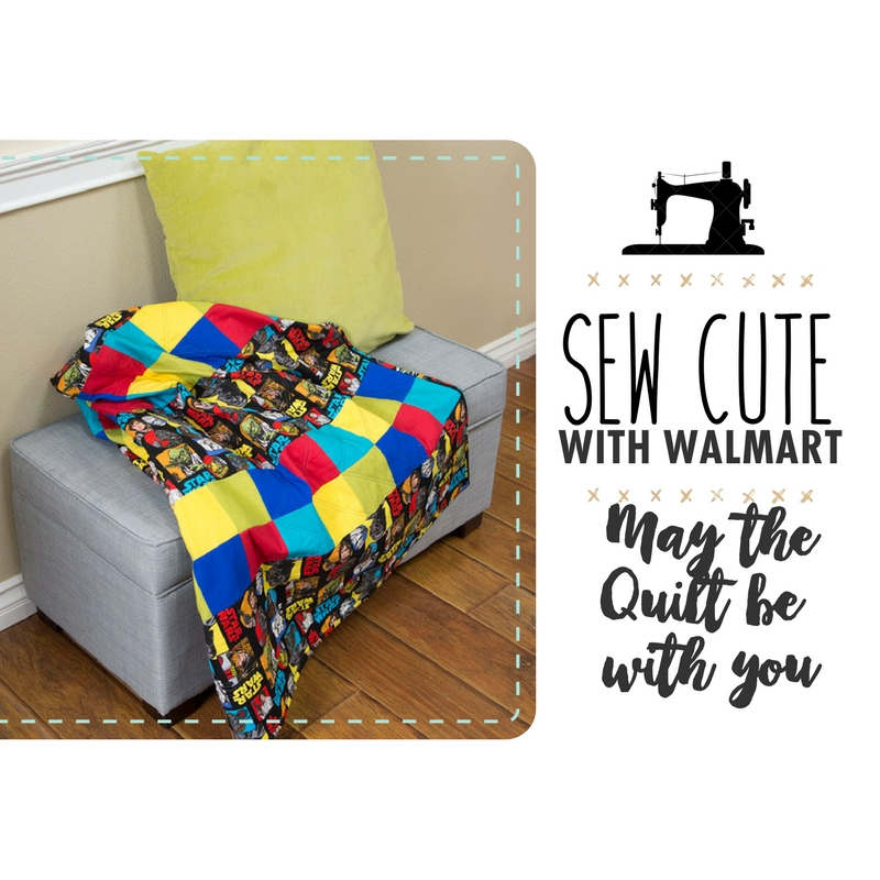 Sew Cute With Walmart: May the Quilt Be with You!