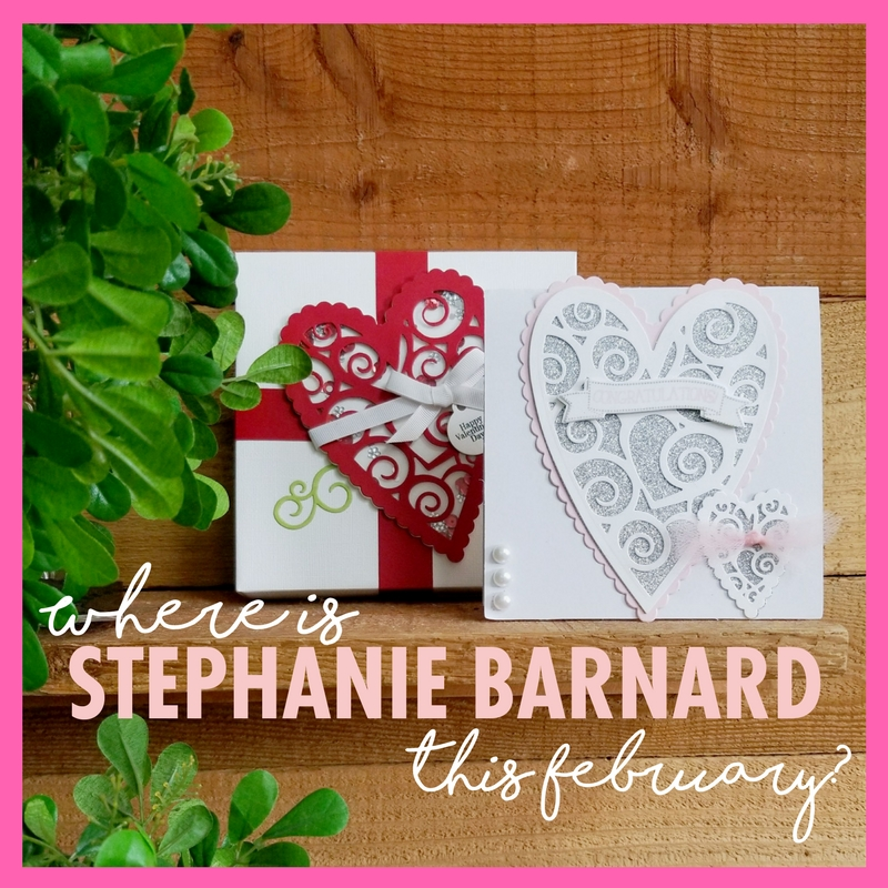 Where Is Stephanie Barnard This February?