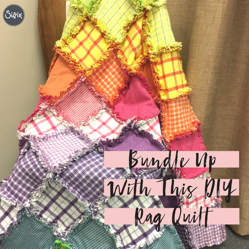 Bundle Up With This DIY Rag Quilt