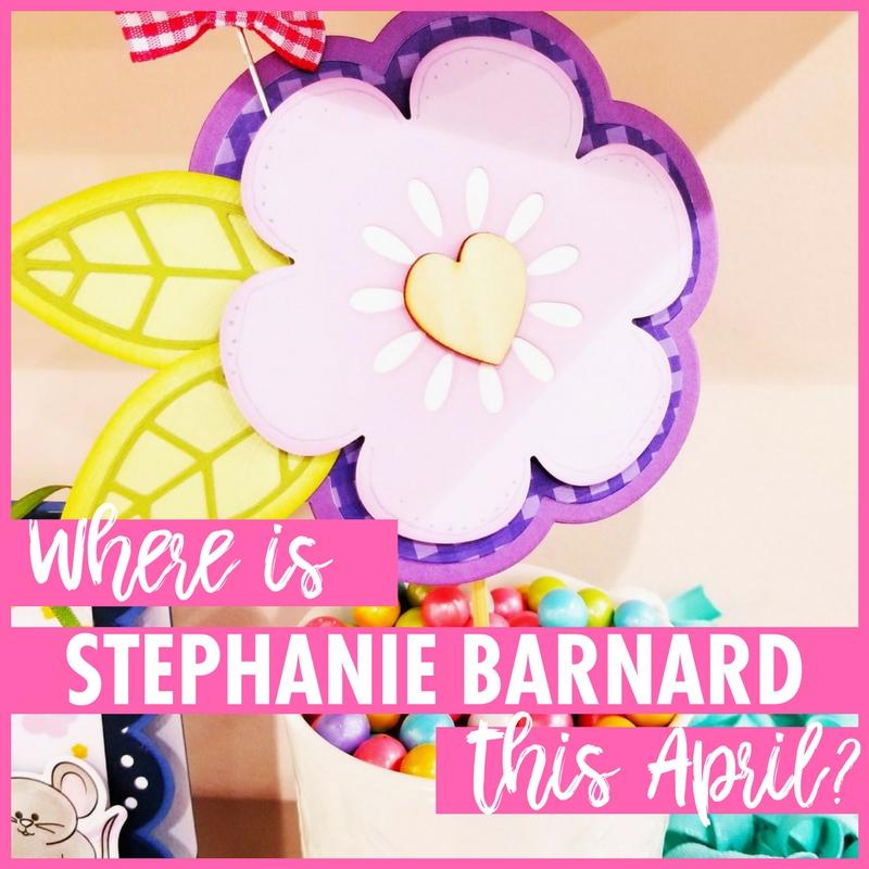 Where Is Stephanie Barnard This April?