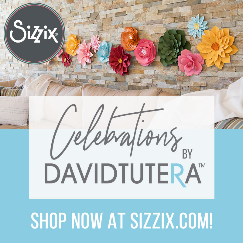 Celebrate EVERY Day With David Tutera's Latest Collection, Available Today on Sizzix.com!