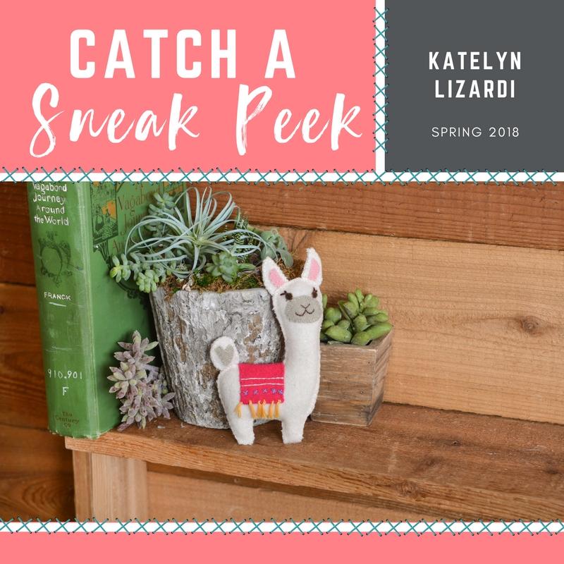 Catch a Sneak Peek of Katelyn Lizardi's Quilt Die for Spring 2018!