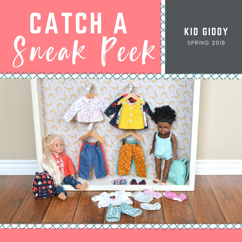 Catch A Sneak Peek Of Kid Giddy's Spring 2018 Collection!