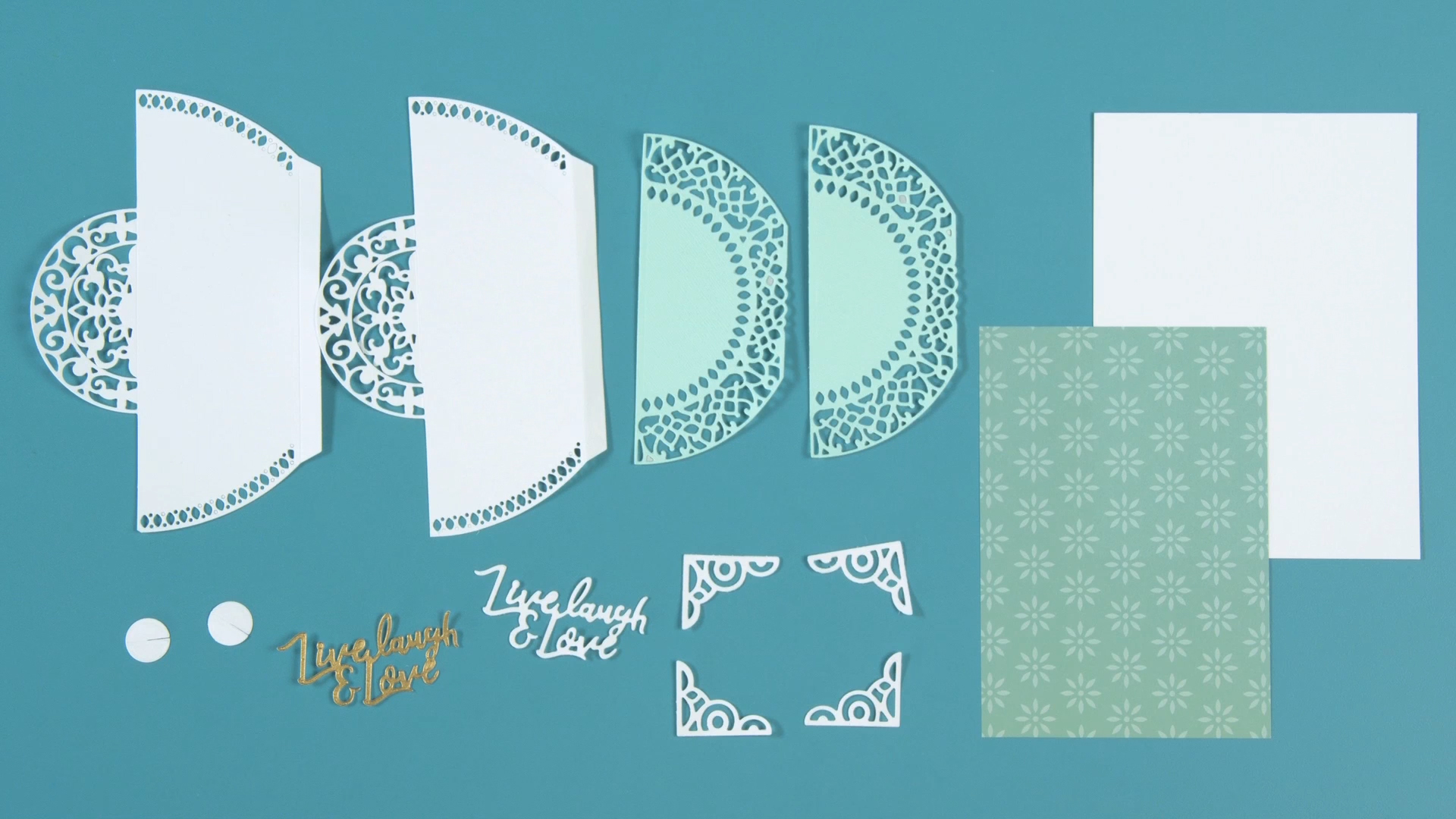 Create this DIY Moroccan Lace Card!
