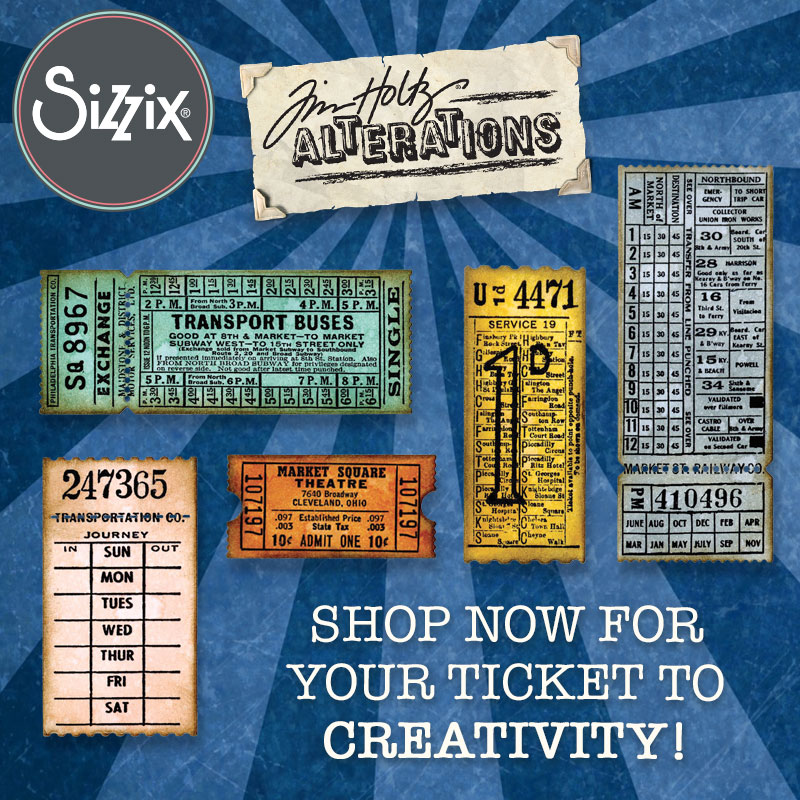 Available Now at Local Craft Stores: Tim Holtz's Latest Collection!