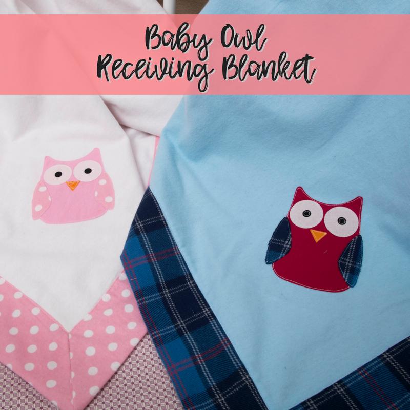 Baby Owl Receiving Blanket