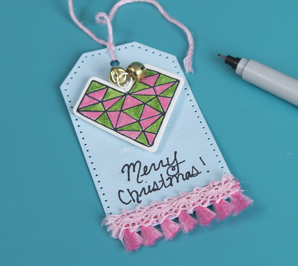Christmas In July Gift Tags.The Perfect Christmas In July Sizzix Summer Gift Tag