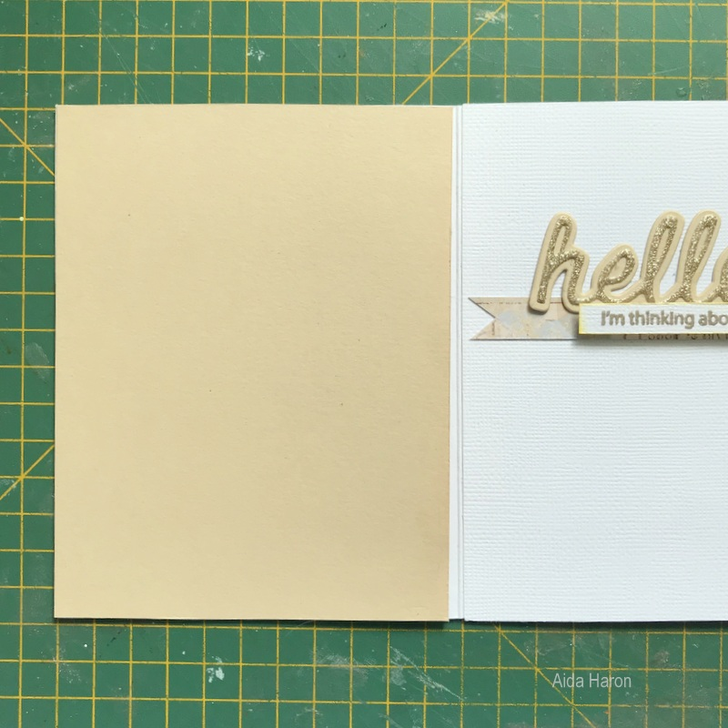 Say Hello With This Sweet Greeting Card!