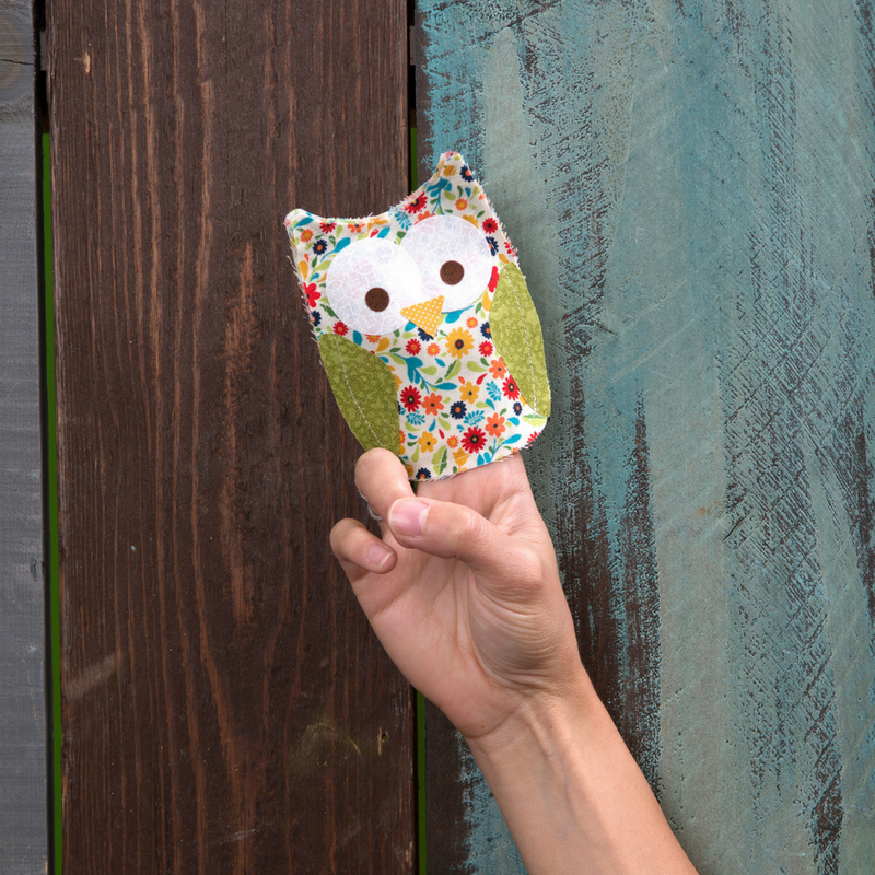 Entertain With This Owl Finger Puppet
