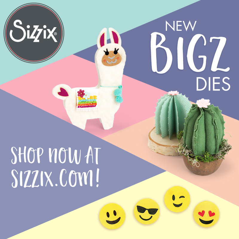 Available Now Your Local Craft Store: New Sizzix Bigz Dies