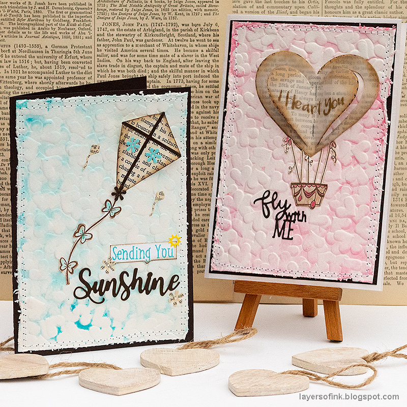 Send Love with These DIY Heart Embossed Cards! / Sizzix Blog