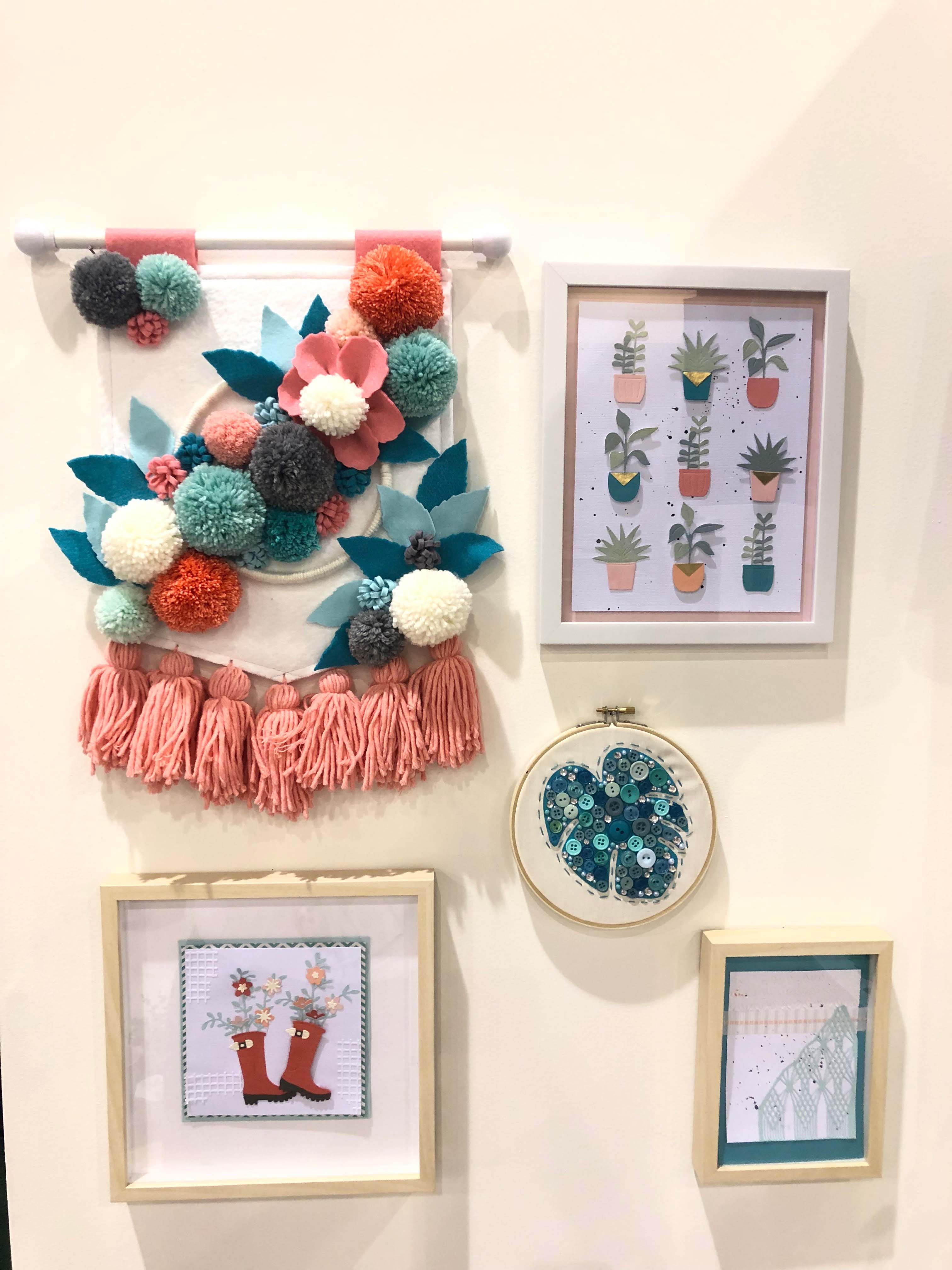 Happiness Is Handmade A Tour Of The Sizzix Lifestyle Home At