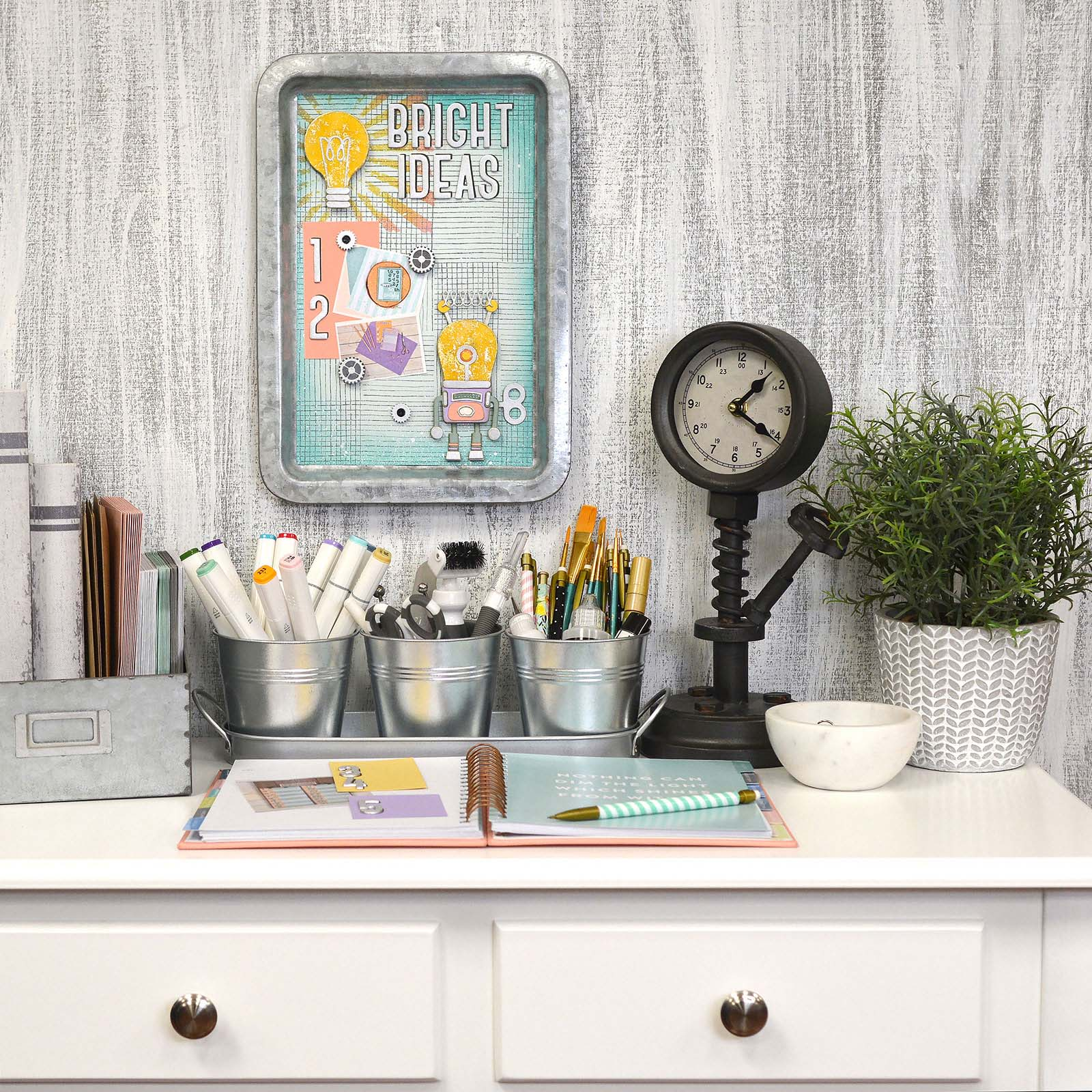 How to Make This Bright Ideas Memo Board