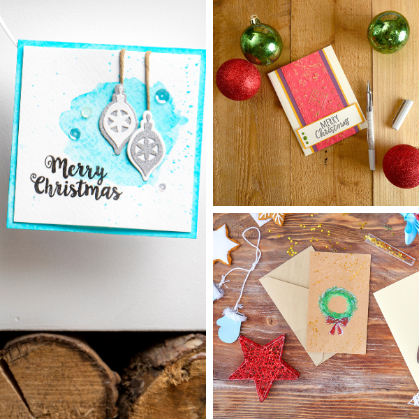 festive card making
