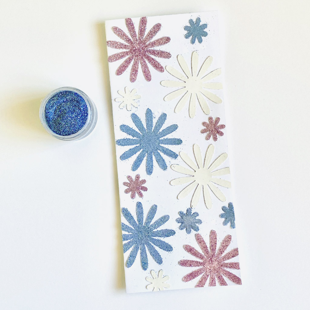 Colorful Glitter Card Backgrounds