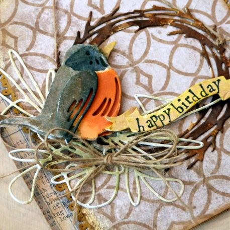 A Feathered Friends Happy Bird Day