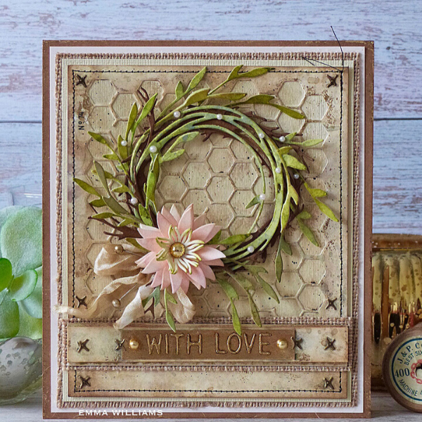With Love Card Project by Emma Williams