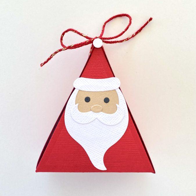Customizable Christmas Character Favor Box