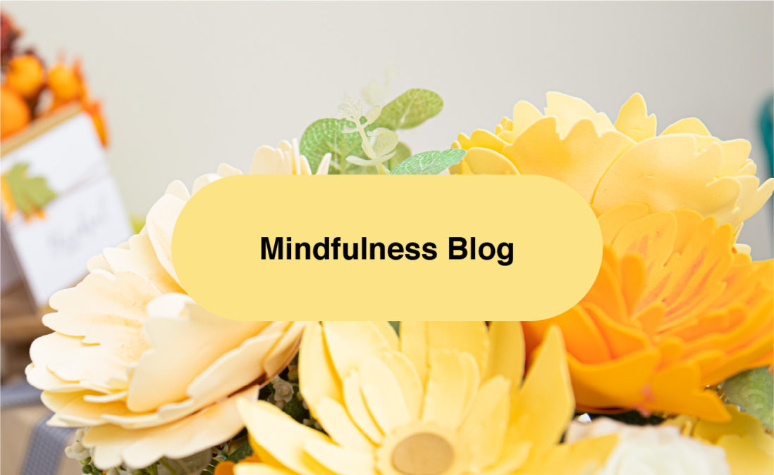 Mindfulness in Crafting Blog!